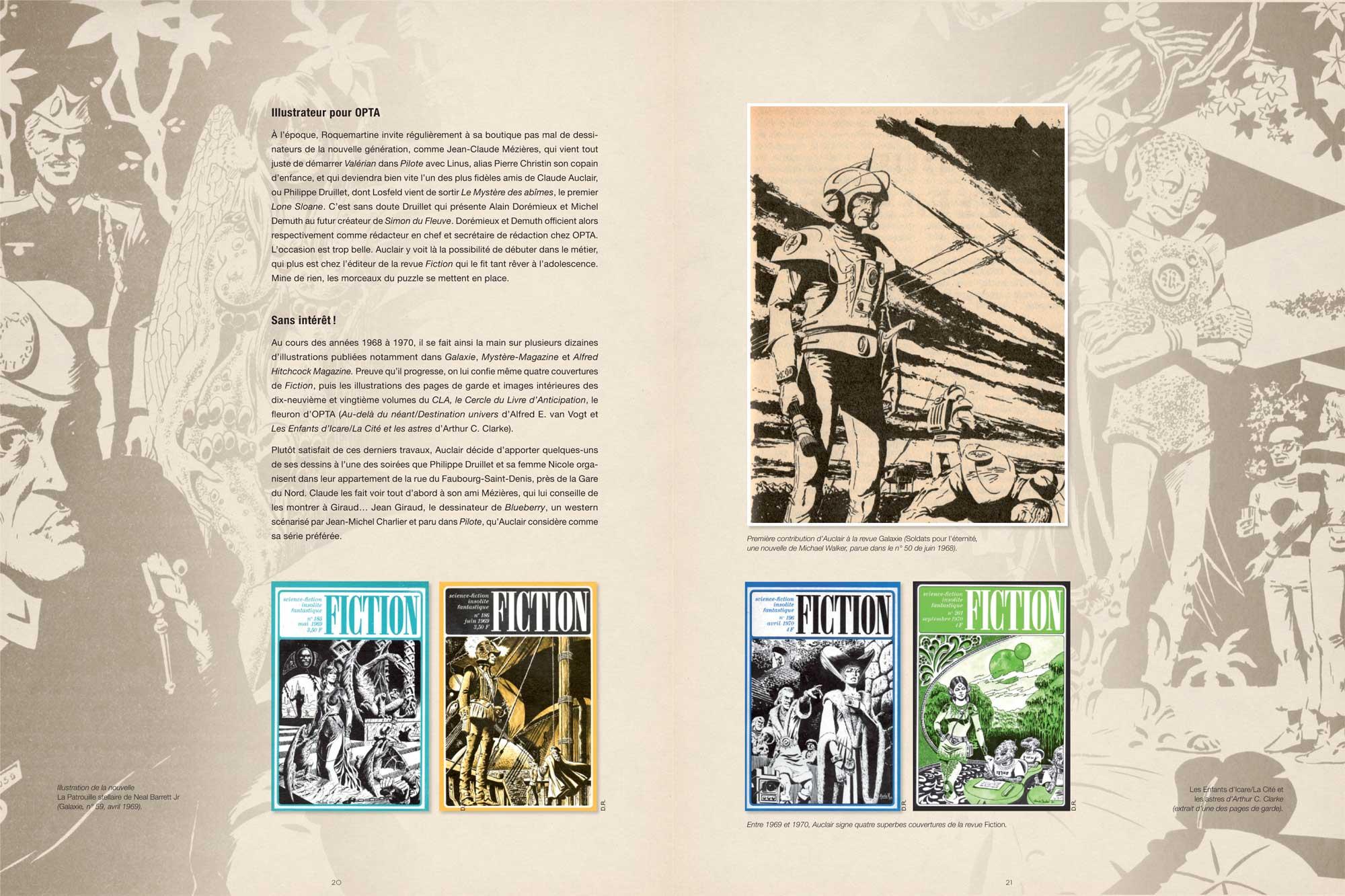Extrait du dossier du tome 1 de l'intégrale de « Simon du fleuve ».