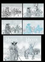 Recherches pour les deux couvertures par P. Xavier