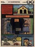 « Le Baromètre » dans le n° 607 de Pilote, en 1971 : une actualité d'Auclair et Chakir.