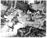 Illustration de J. Parnotte pour les pages de garde