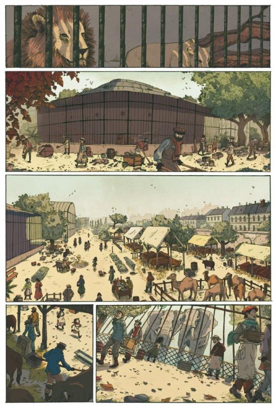 Le jardin des Plantes par Lucy Mazel