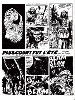 « Plus Court fut l'été » au n° 2 de Comics 130, en 1970.