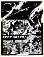 « Trop Grande la petite », au n° 1 de Comics 130, en 1970.