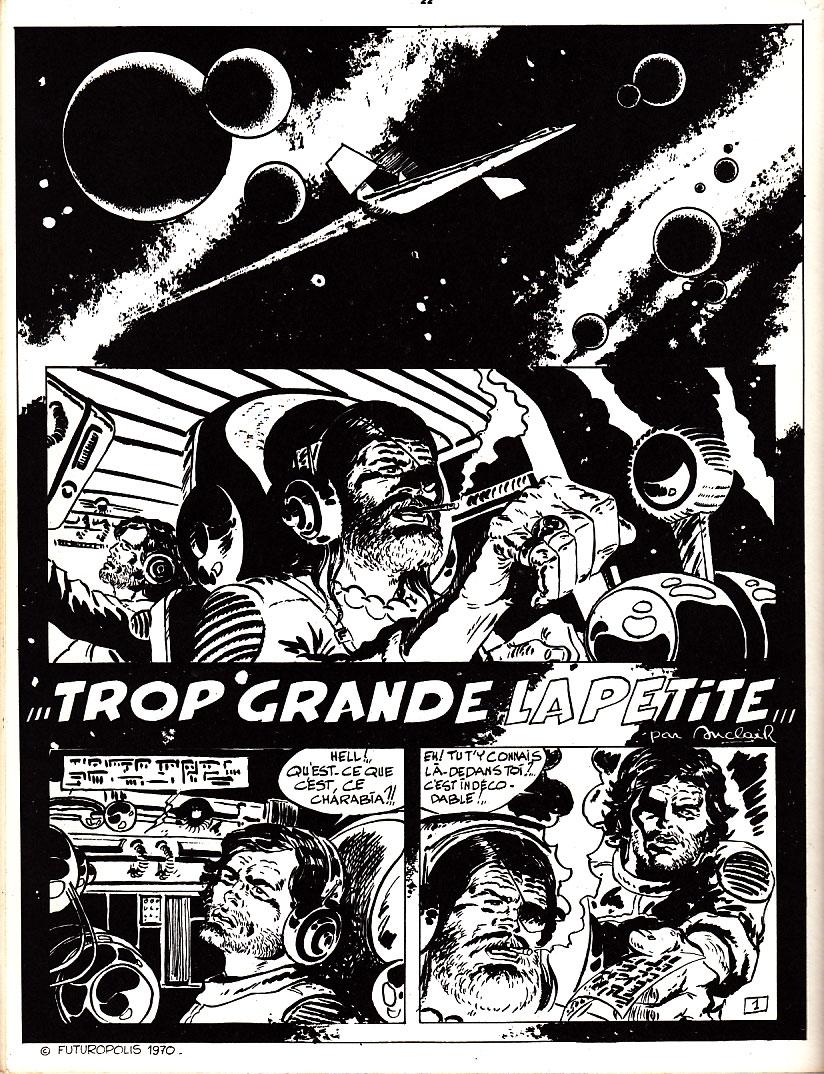 « Trop Grande la petite », au n° 1 de Comics 130, en 1970.