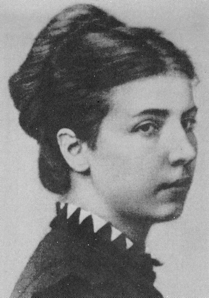 Portrait de la véritable Élisabeth Dmitrieff