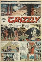 Extrait de « La Saga du grizzli » publiée dans Tintin.