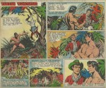 Burne Hogarth de retour sur « Tarzan ».