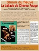 Prospectus publicitaire pour l'édition pirate de « La Ballade de Cheveu Rouge ».