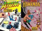 Couvertures de The Atom n° 2 de Kane & Anderson et de Hawkman n° 2.