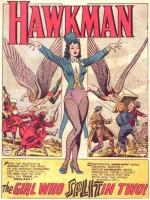 La splash Page de Zatanna dans Hawkman n° 4 (novembre 1964).