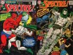 Couvertures de Showcase n° 61 (avril 1966) et de Spectre n° 1 (décembre 1967).