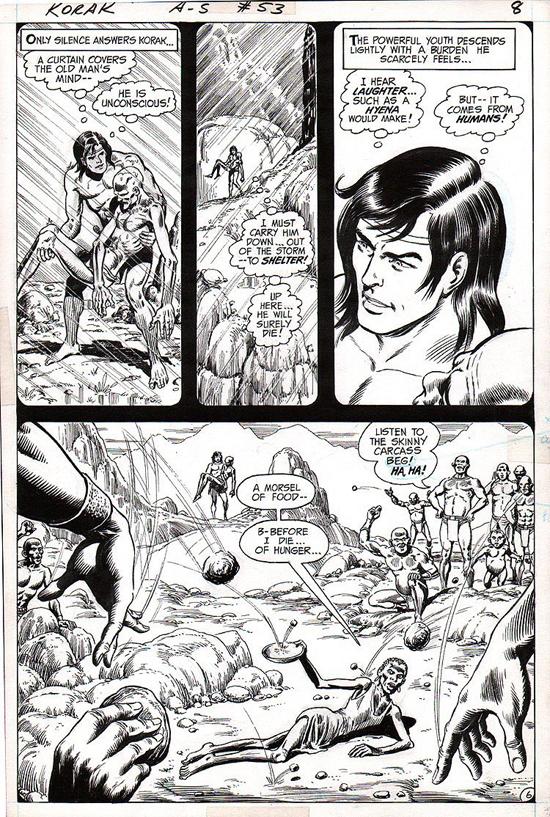 La page 6 de Korak, Son of Tarzan n° 53.