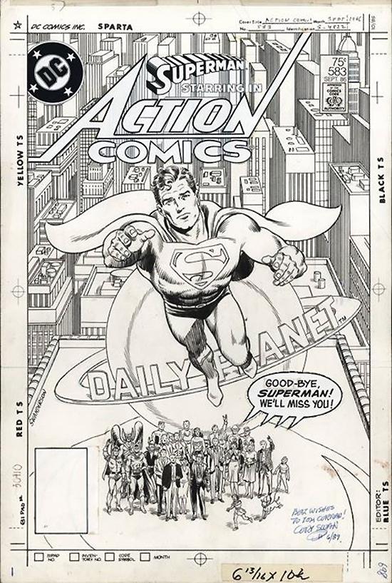 Action Comics n° 583 (septembre 1986).