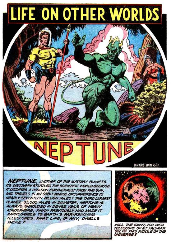 Quelques pages d'histoires courtes parues dans Planet Comics n° 42 et 55 (Fiction House).