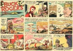 Une page du dimanche de « Buck Rogers » (3/8/1958).