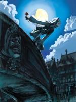 Illustration de couverture et 1er plat du tome 1 (Delcourt 2007)