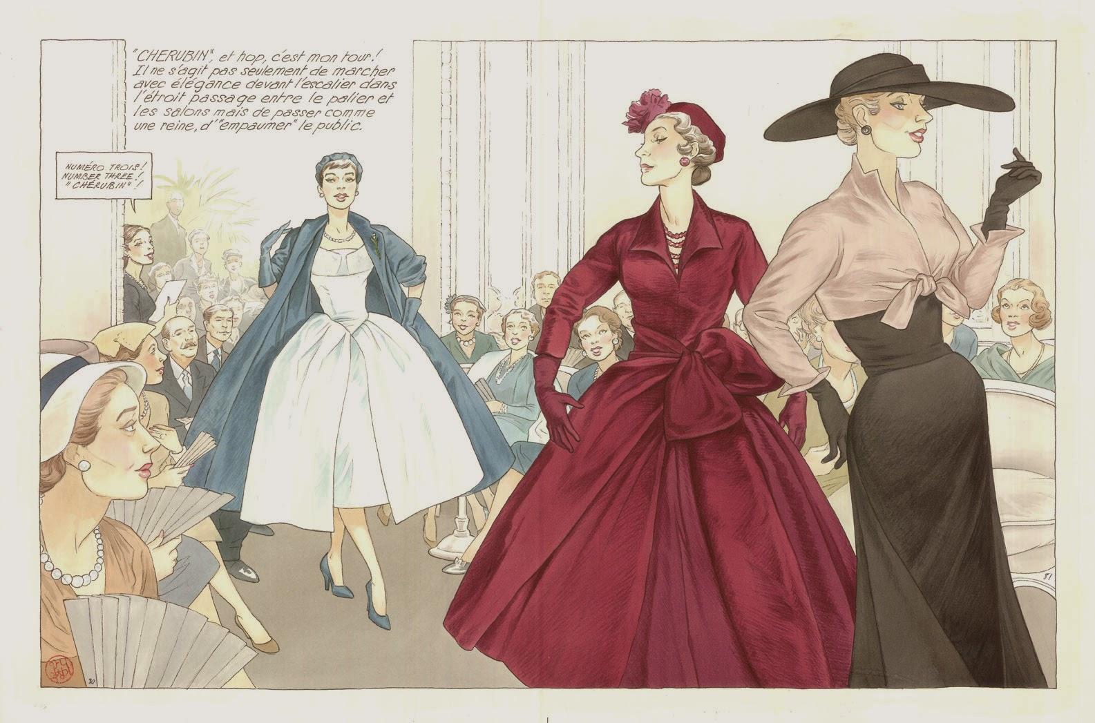 Extrait de « Jeune fille en Dior ».
