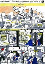 Première et seconde versions du storyboard par F. Corteggiani, d'Istanbul à Prague