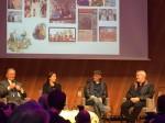 Albert Uderzo, Anne Goscinny, Jean-Yves ferri et Didier Conrad