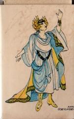 Boîte d'allumettes illustrée par Annie Goetzinger.