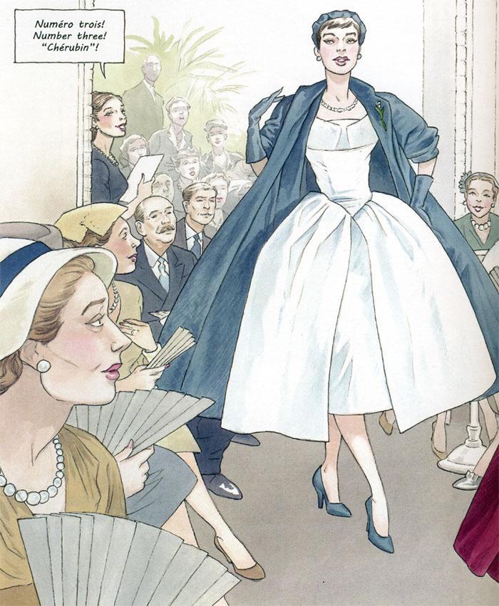 « Jeune fille en Dior ».