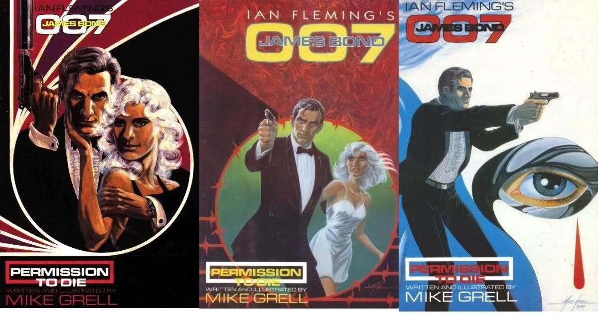 Permission to Die (couvertures et extraits, Eclipse Books 1989 - 1991)