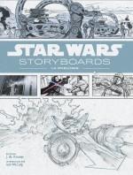 L'ensemble des storyboards réunis et détail du storyboard pour L'Empire contre-attaque en 1980