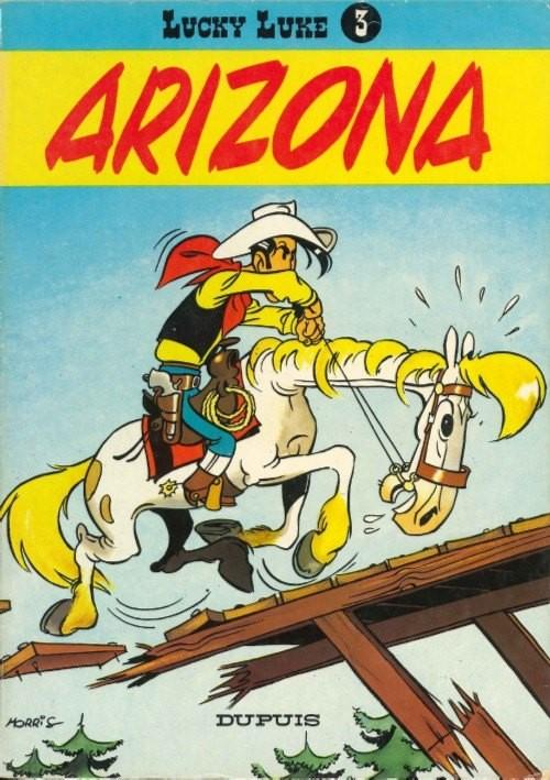"""En album, """"Arizona 1880"""" (1er récit rebaptisé """"Arizona"""") fut publié en 3ème place par Dupuis en janvier 1951"""