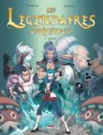 Couverture Les Légendaires Origines T 4Shimy