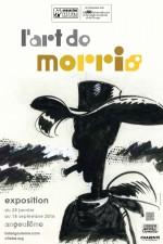 """FIBD 43 (2016) : affiche pour l'expostion """"l'Art de Morris"""""""