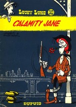 Une sobriété des décors digne du dessin animé, pour Calamity Jane (Dupuis, 1967)