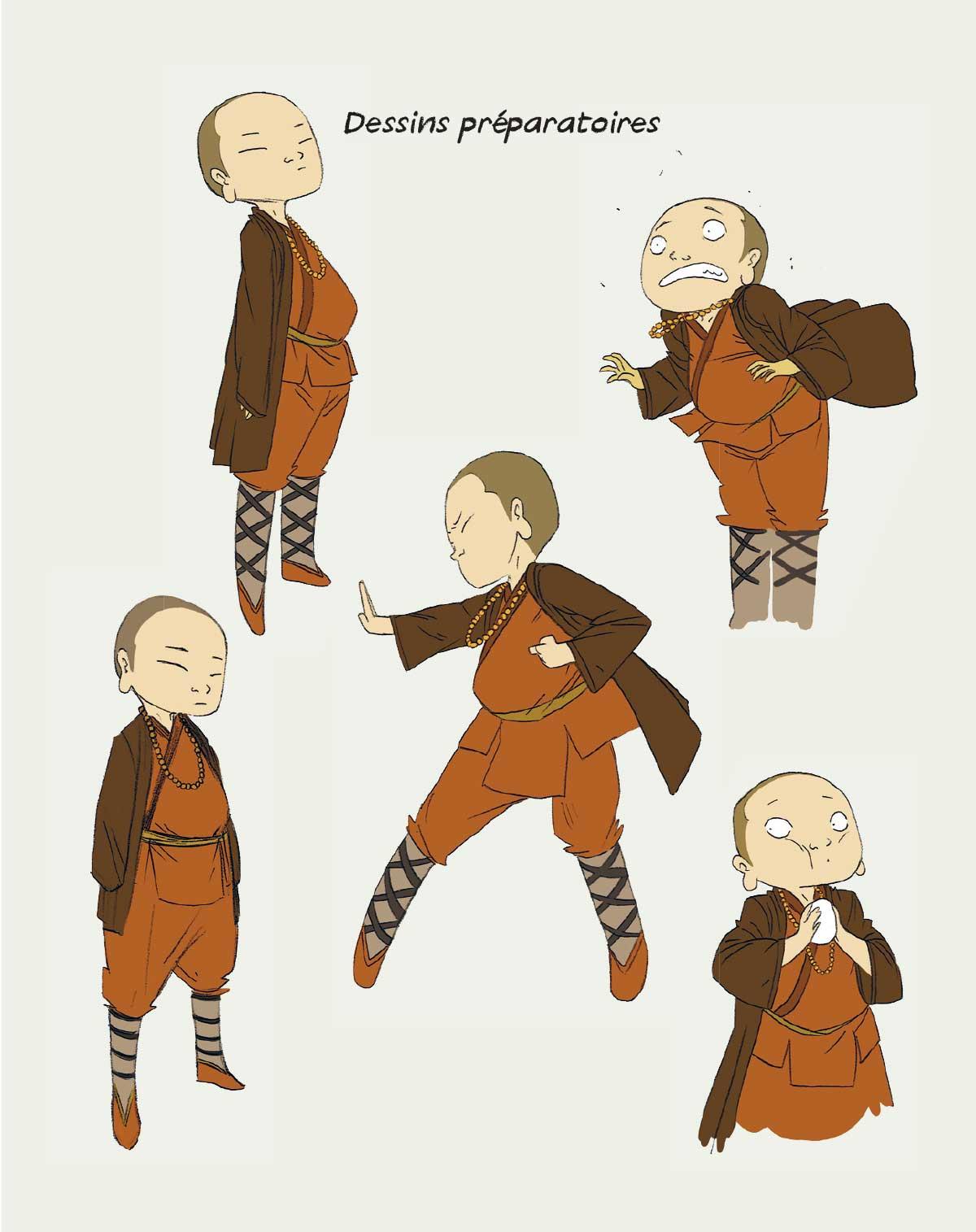 Le moine shaolin Jie