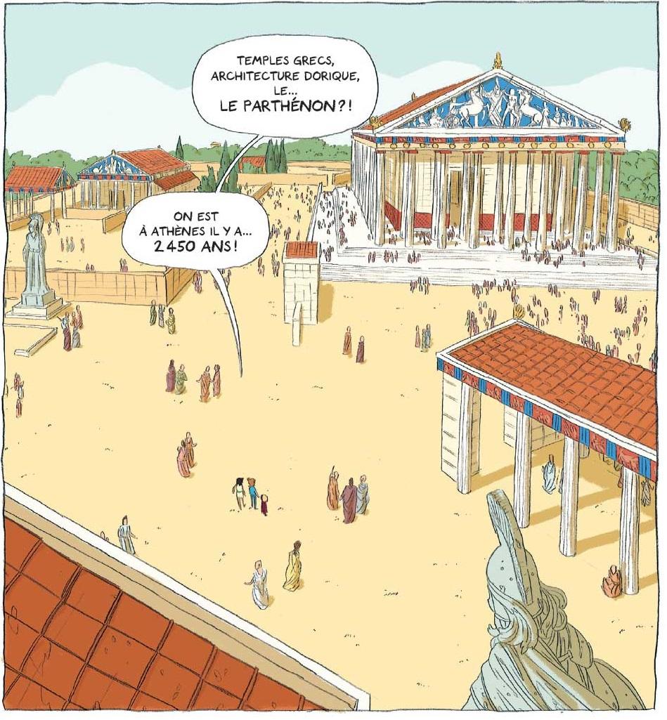 Les Aventuriers-de l'Intermonde le Parthénon
