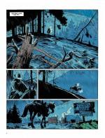 """Planches 2 et 3 de """"L'homme qui tua Lucky Luke"""" (M. Bonhomme et Dargaud, 2016)"""