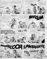 Encre de Chine originale par Franquin (1967)