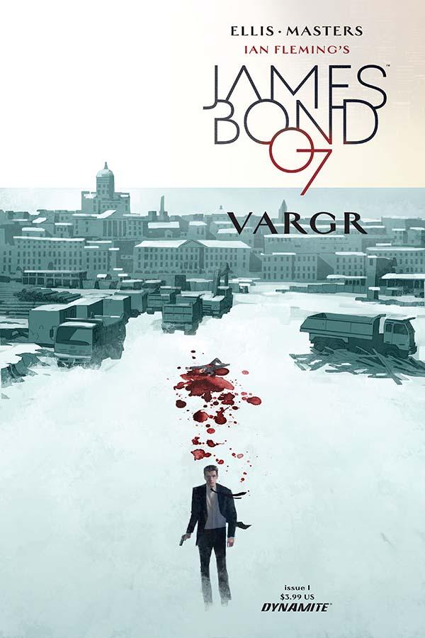 VARGR James Bond 007 Dom Reardon cover Dynamite comic 1