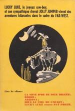 Les 4èmes de couvertures, aux origines de la série (en 1951 puis 1962)