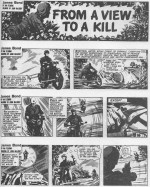 """Un assassin du SMERSH va passer à l'action au début de """"From a View to a Kill"""" (1961)."""