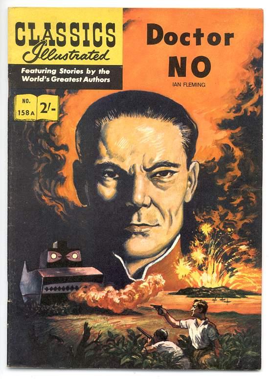 """Les deux versions de l'adaptation de """"James Bond contre Docteur No"""" en 1962 et 1963"""