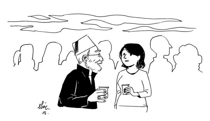 Hier soir, pendant la fête d'anniversaire de Mathilde, Golo racontait à Giorgia Marras l'ambiance si particulière de la maison qu'il a construit à Louxor. Il évoquait ces archéologues du monde entier qui s'y croisent. Et pour conclure, il lance « C'est le trou-du-cul du monde, mais les gens y viennent de partout ! ». Je les fais rire tous les deux en répondant « ça me rappelle quelque chose ! ».