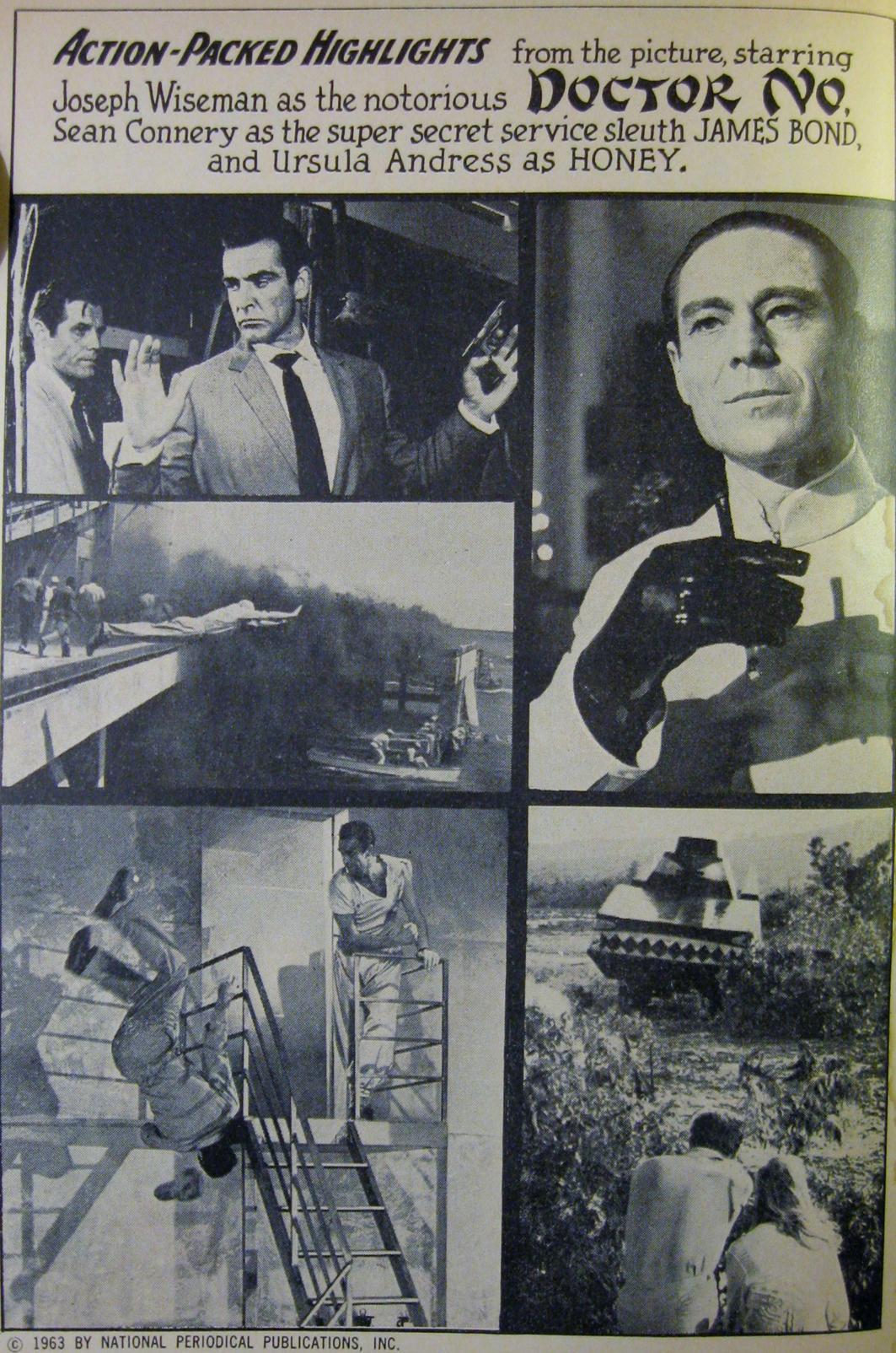 Un cahier de photos fut rajouté dans la version US du comic book.