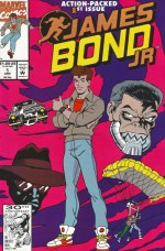 James Bond Jr. n°1 (Marvel, 1er janvier 1992) par Colin Fawcett et Mario Capaldi