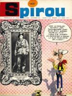 """Spirou 1437 (28 octobre 1965) annonçant le début de """"Calamity Jane""""."""