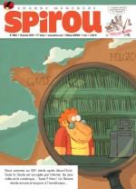 Couverture pour Spirou n°3953 (15 janvier 2014)