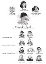 Alexandre Jacob Les personnages