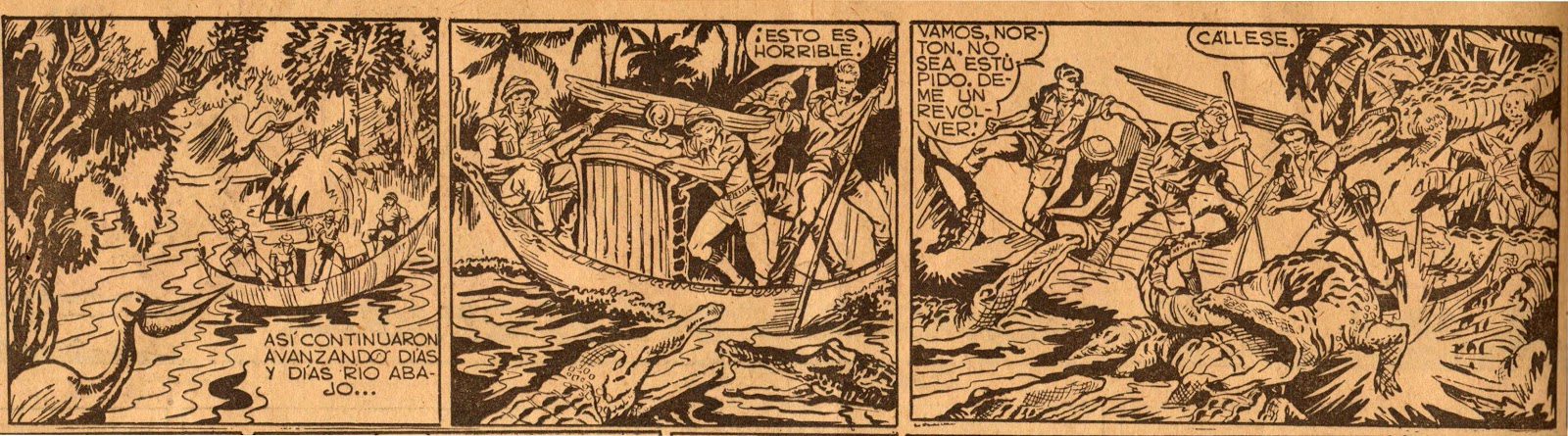 « Dinah en la reina de Angkor » dans Aventuras y amenidades de la prensa.