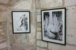 Un aperçu de l'exposition hommage à Katsuhiro Otomo.