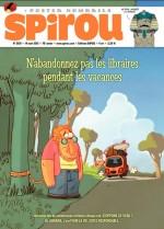 Couverture pour Spirou n°3931 (14 août 2013)