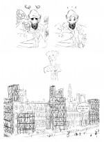 Crayonnés projet Jacques Damour (2)