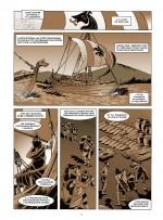 Une histoire du commerce (planche 1 ; Futuropolis 2016)